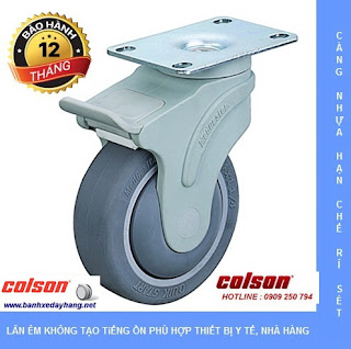 Bánh xe y tế xe cấp phát thuốc bệnh viện spa khách sạn Colson Mỹ www.banhxedayhang.net