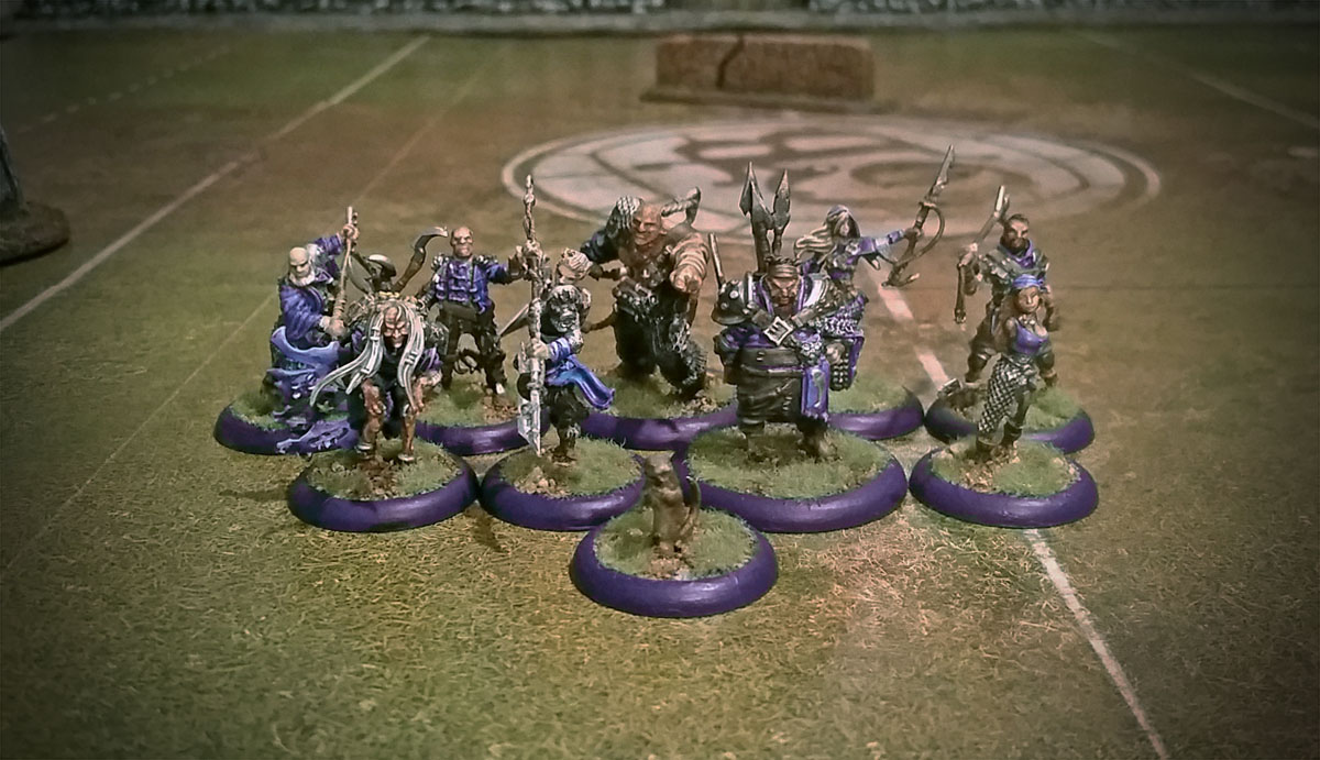 guild ball painted fishermen