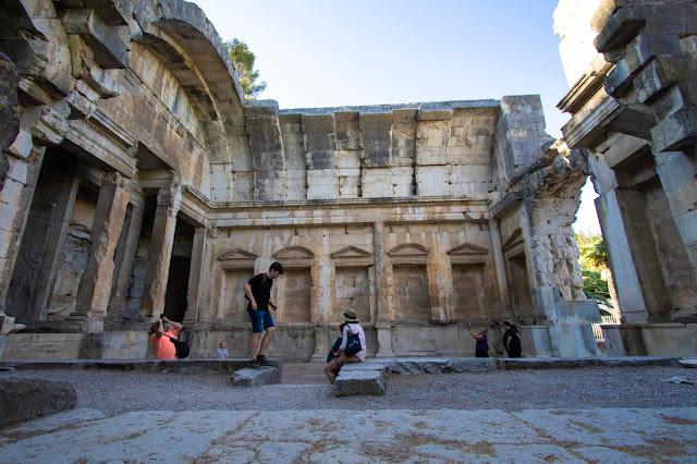 Jardin de la fontaine-tempio di Diana-Nimes