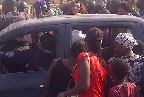 Photo: Police Arrests Mercy Aigbe, Brother In Osun