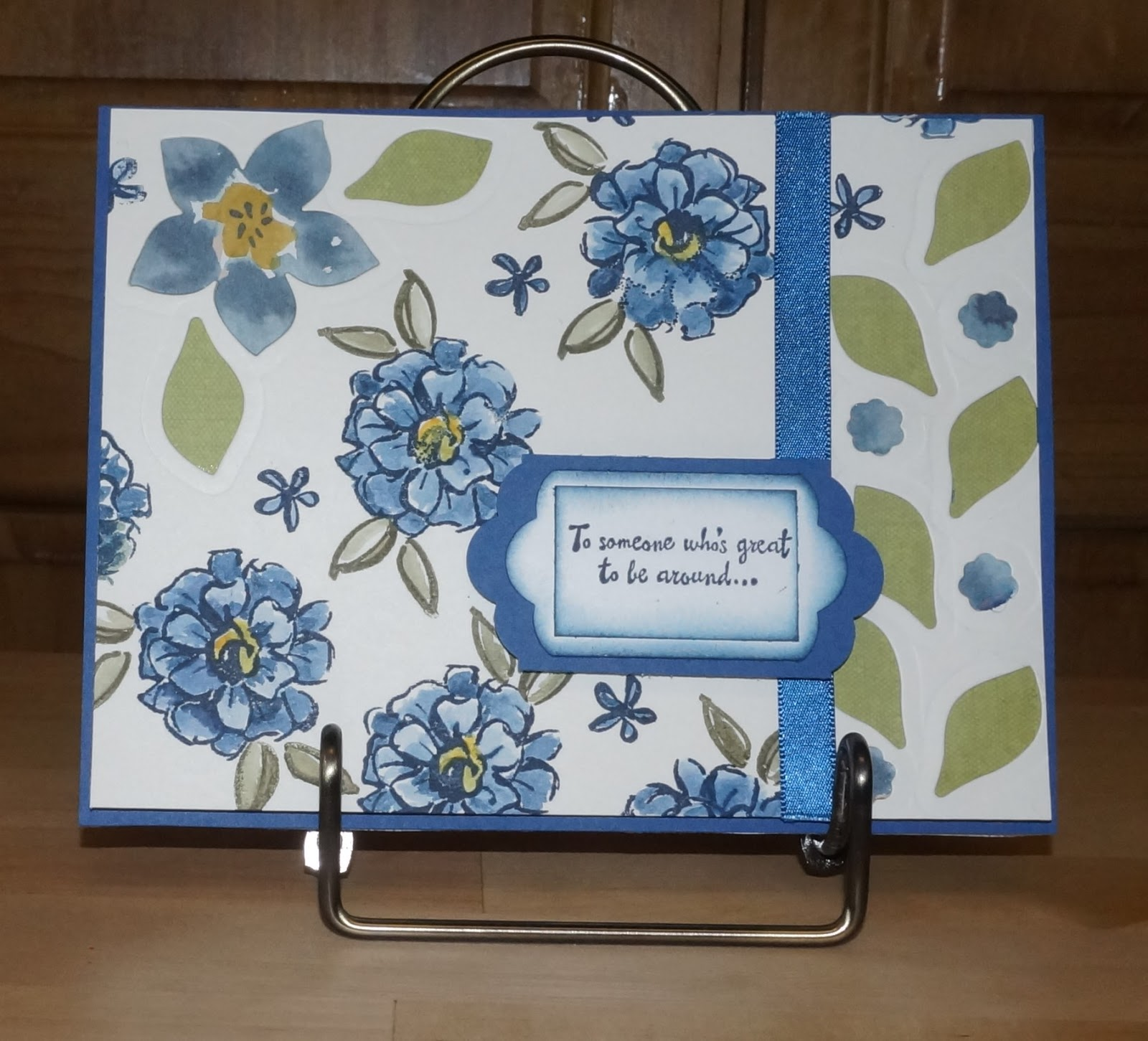 Watercoloring Is So Easy With The What I Love Stamp Set In Stampin Up Sale A Bration Brochure