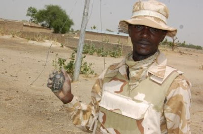 boko haram shoot soldiers borno state
