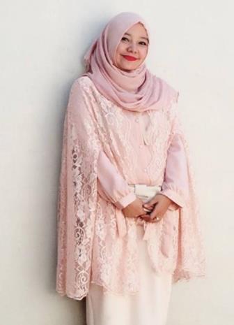 Kebaya Muslim Sederhana Dan Praktis