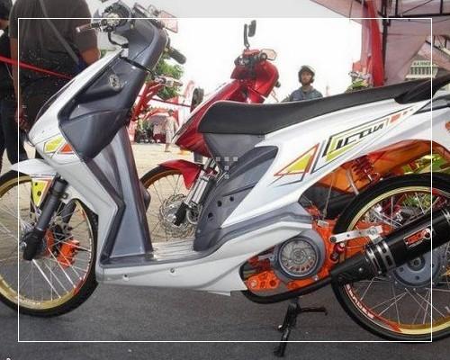 ide modifikasi motor honda beat 2012