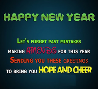 Happy New Year Greetings for her