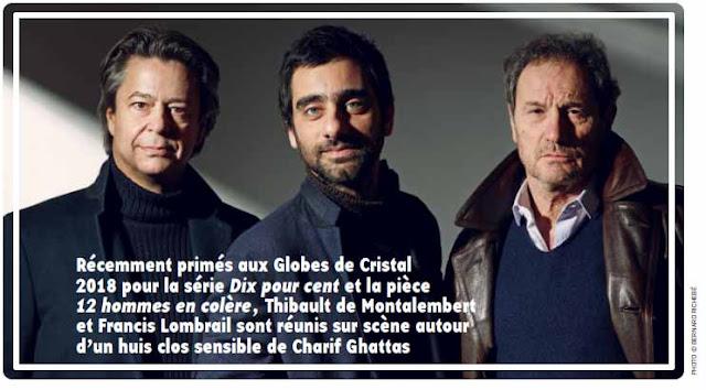 Thibault de Montalembet, Charif Ghattas et Francis Lombrail