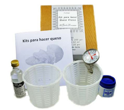 kit hacer queso