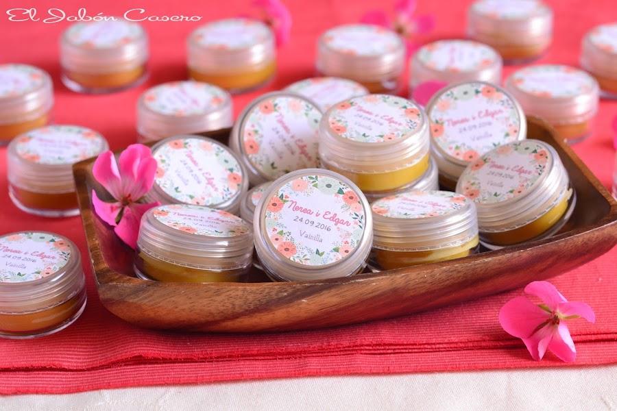 Detalles para bodas balsamos naturales de karite