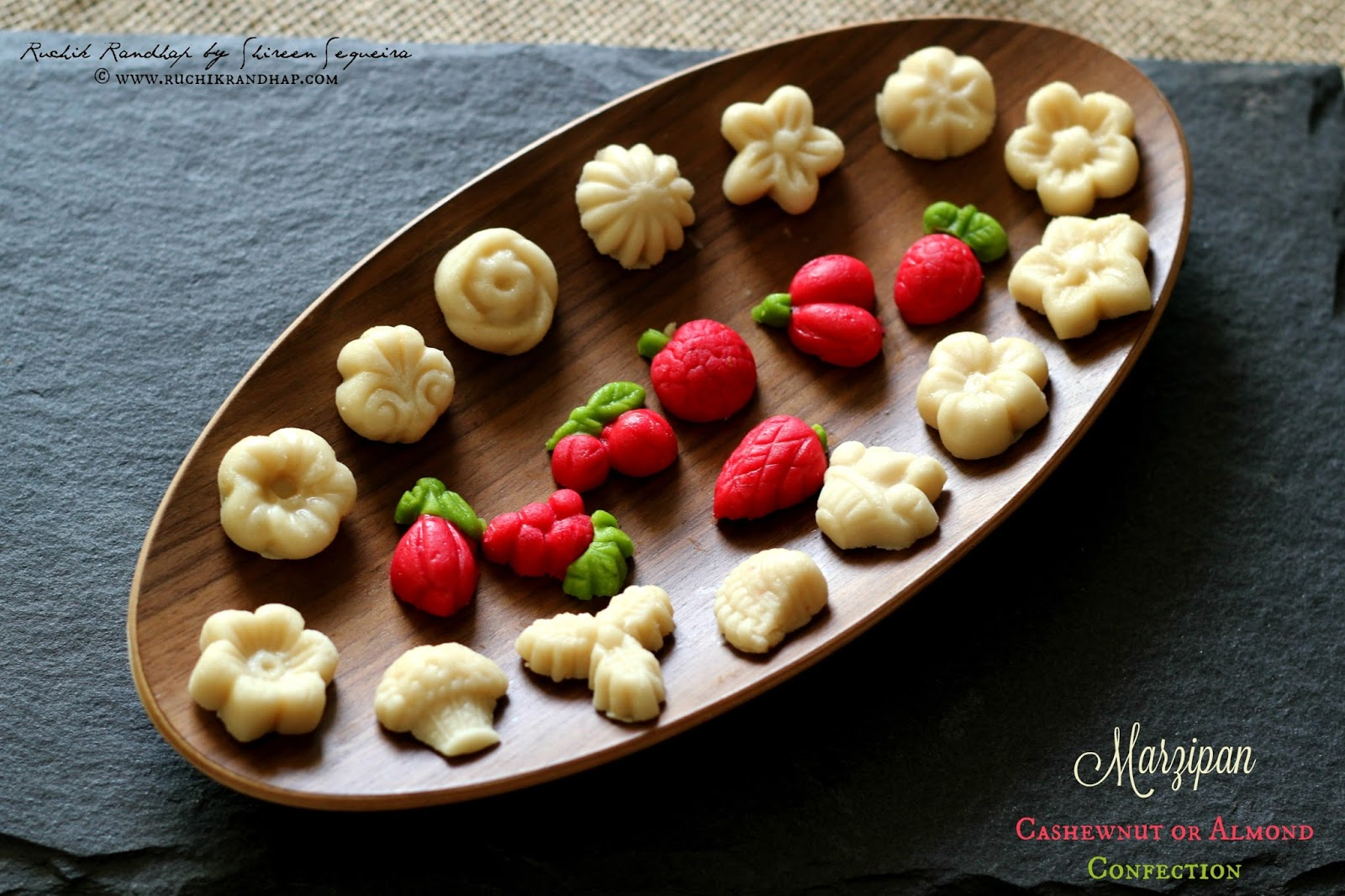 Marzipan - what is it and how can it be cooked at home