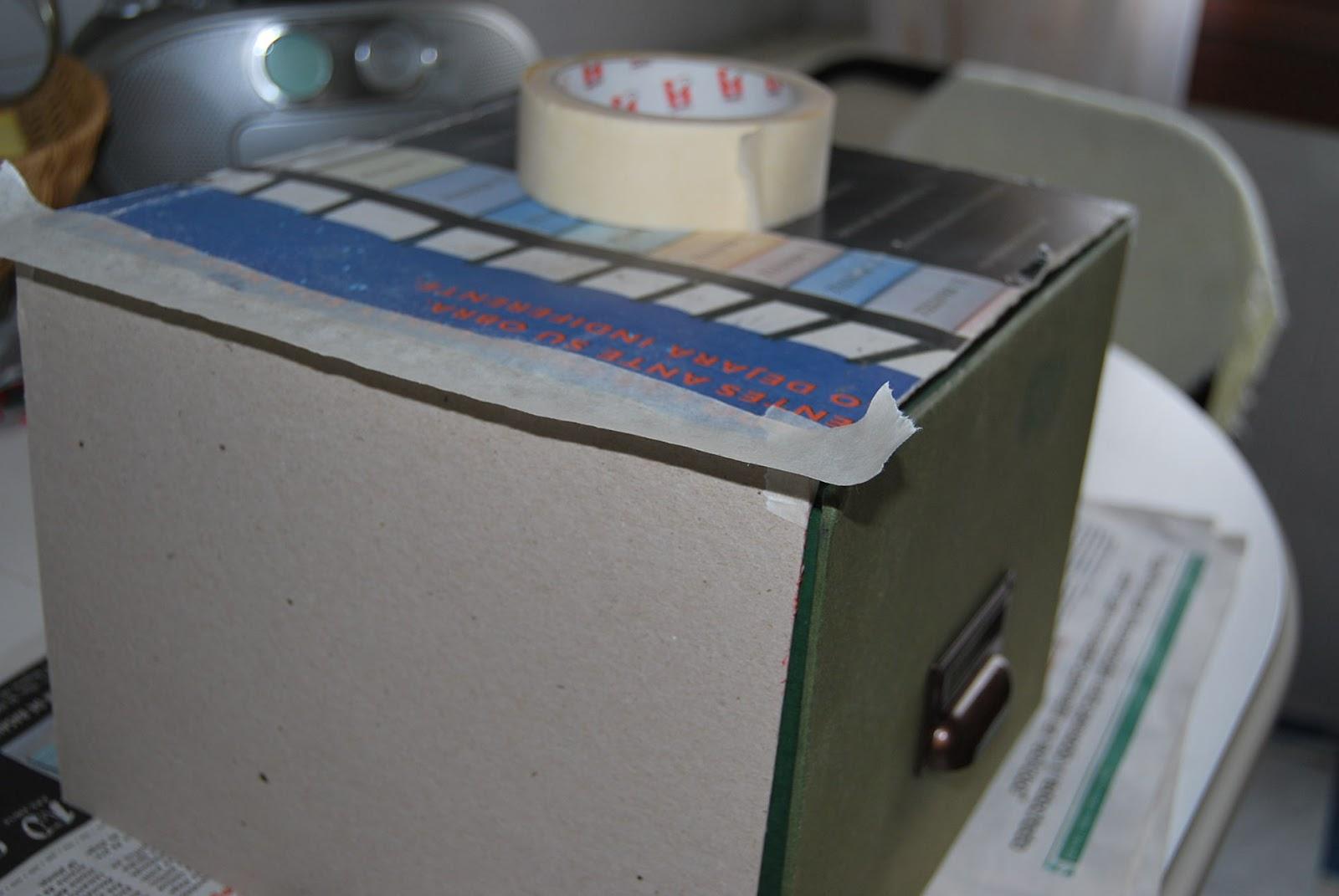 Esta casa es una ruina como hacer una caja para un fichero - Como hacer una caja con carton ...