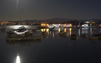Wallpaper: Spring nights in Monterey Bay