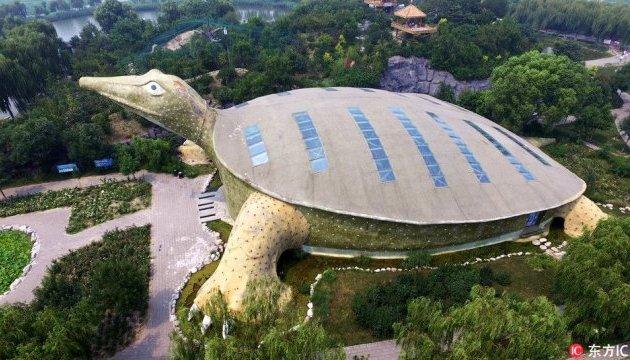 Будинок-черпаха у Китаї
