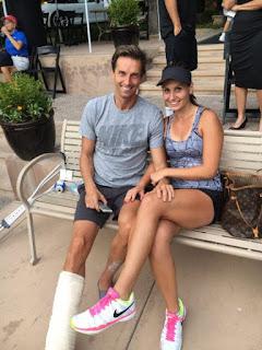 Jovana Jaksic With Boyfriend