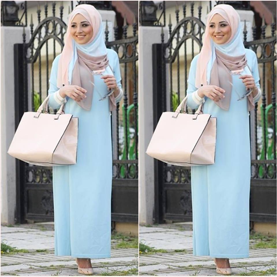 Favori Abaya pour mohajaba chic style 2016 - 2017 - Hijab Fashion and  DE16