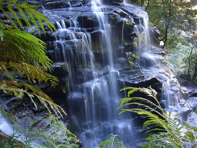 Woolshed Waterfalls