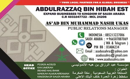 buka usaha di arab saudi