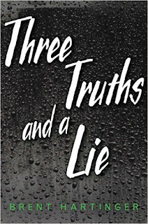 Three Truths and a Lie by Brent Hartinger book cover
