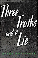 Three Truths and a Lie by Brent Hartinger book cover and review