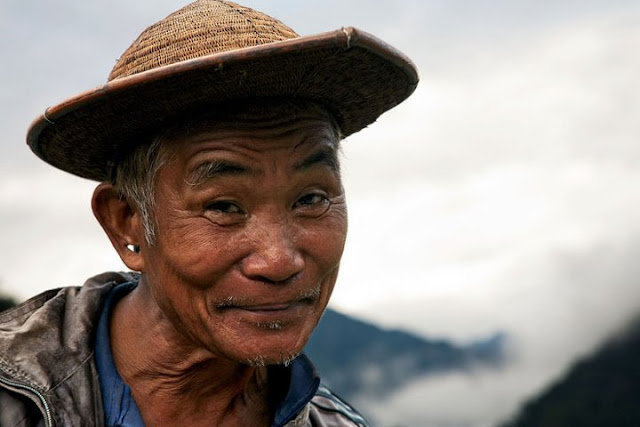A Tagin man, Arunachal Pradesh - Johan Gerrits photography