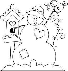 motivo natalino boneco de neve