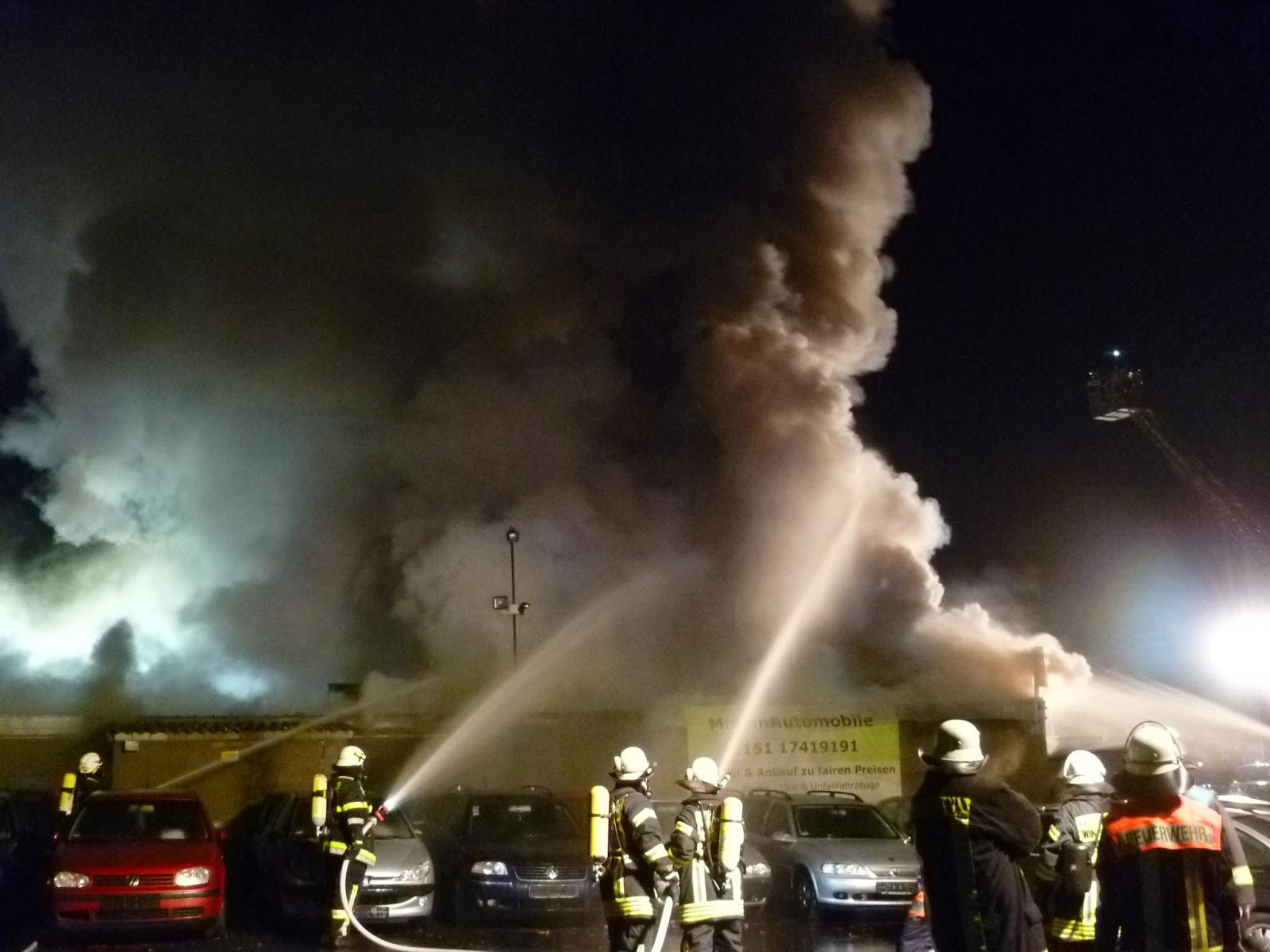 Explosion Würzburg