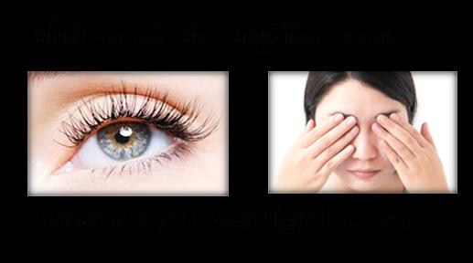 आँखों का दर्द और आयुर्वेदिक घरेलू उपचार | Eye pain and Ayurvedic home remedies