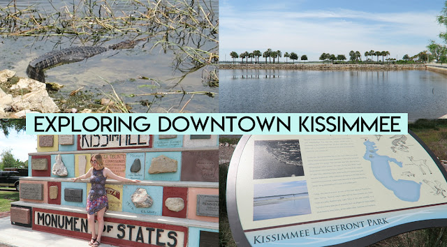 Exploring downtown kissimmee