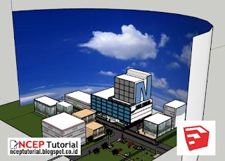 Download Background Langit untuk Sketchup Model