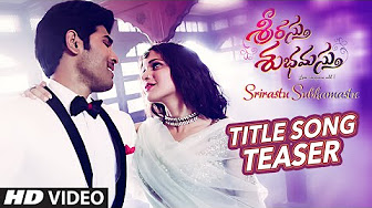 Watch Srirastu Subhamastu Title full video song Teaser Watch Online Youtube HD Free Download
