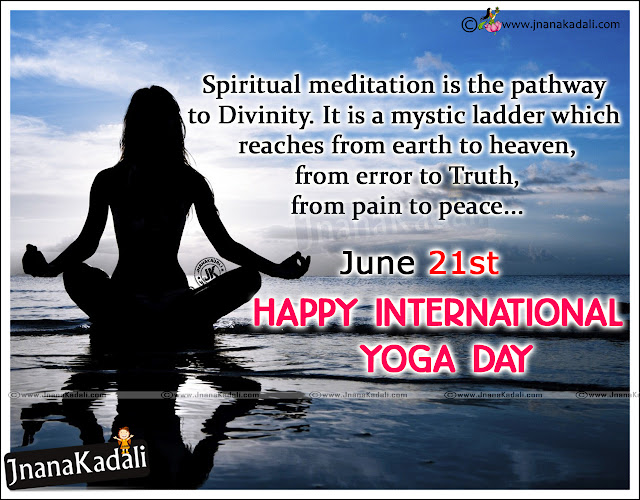 Here is a International Yoga Day Quotes and Wishes in Hindi Language, International Yoga Day 2016 Quotations in Hindi, best of Hindi International Yoga Day Wallpapers and Messages, Top International Yoga Day 2016 Sayings in Hindi Language, International Yoga Day Essay in Hindi language, International Yoga Day Wallpapers and Yoga Diwas Essay.