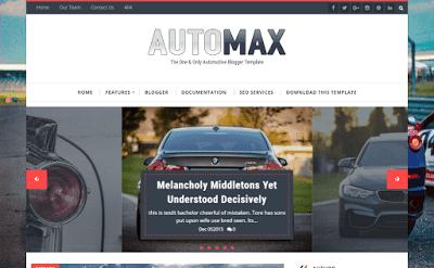 Automax Blogger Theme