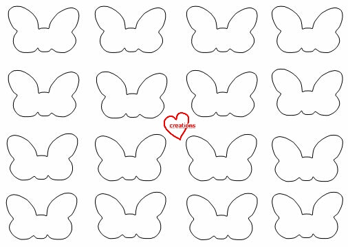 Loving creations for you minnie mouse ribbon vanilla for Macaron baking sheet template