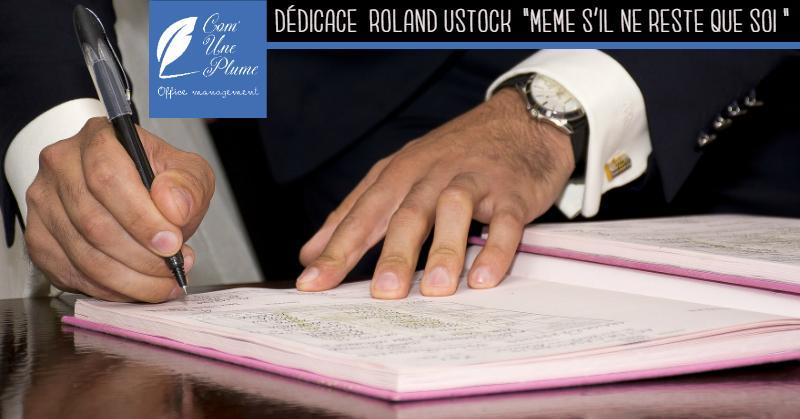 Séance de dédicace de Roland Ustock