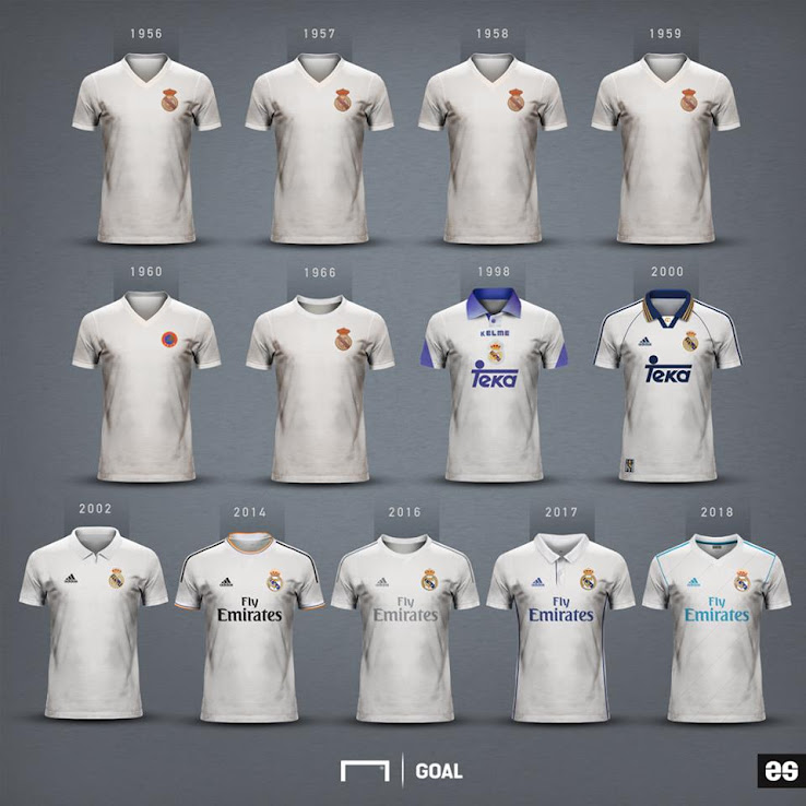 quality design c5c9e 63642 Here Are All Champions League-Winning Real Madrid Kits ...