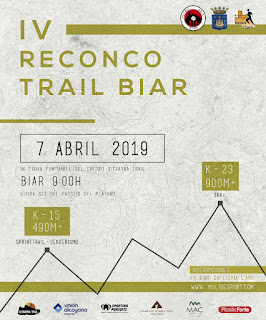 IV TRAIL BIAR RECONCO