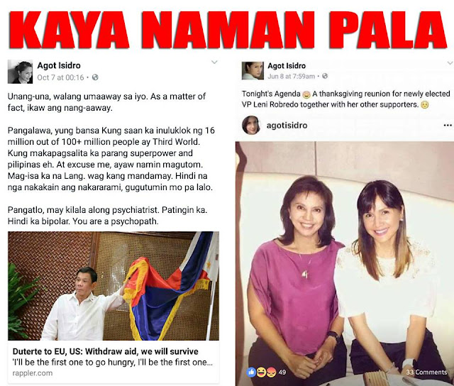 DU30 Supporters Slam Agot Isidro After Calling The President 'Buang'