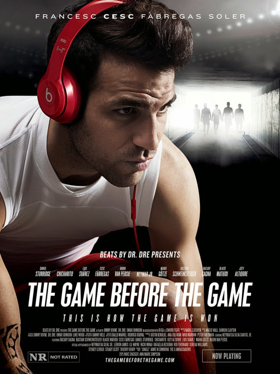 Beats by Dr. Dre, The Game before the Game, Cesc Fabregas