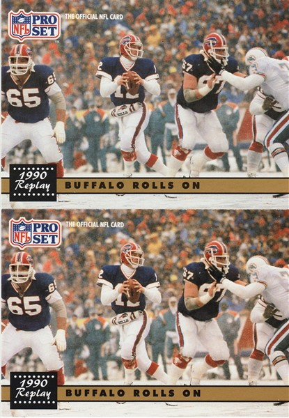1991 Pro Set Jim Kelly - Buffalo Rolls On