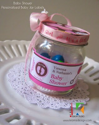DIY Favor Ideas ~ Personalized Gerber Baby Jar or Mason ...