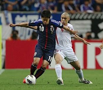 日本対ヨルダン戦