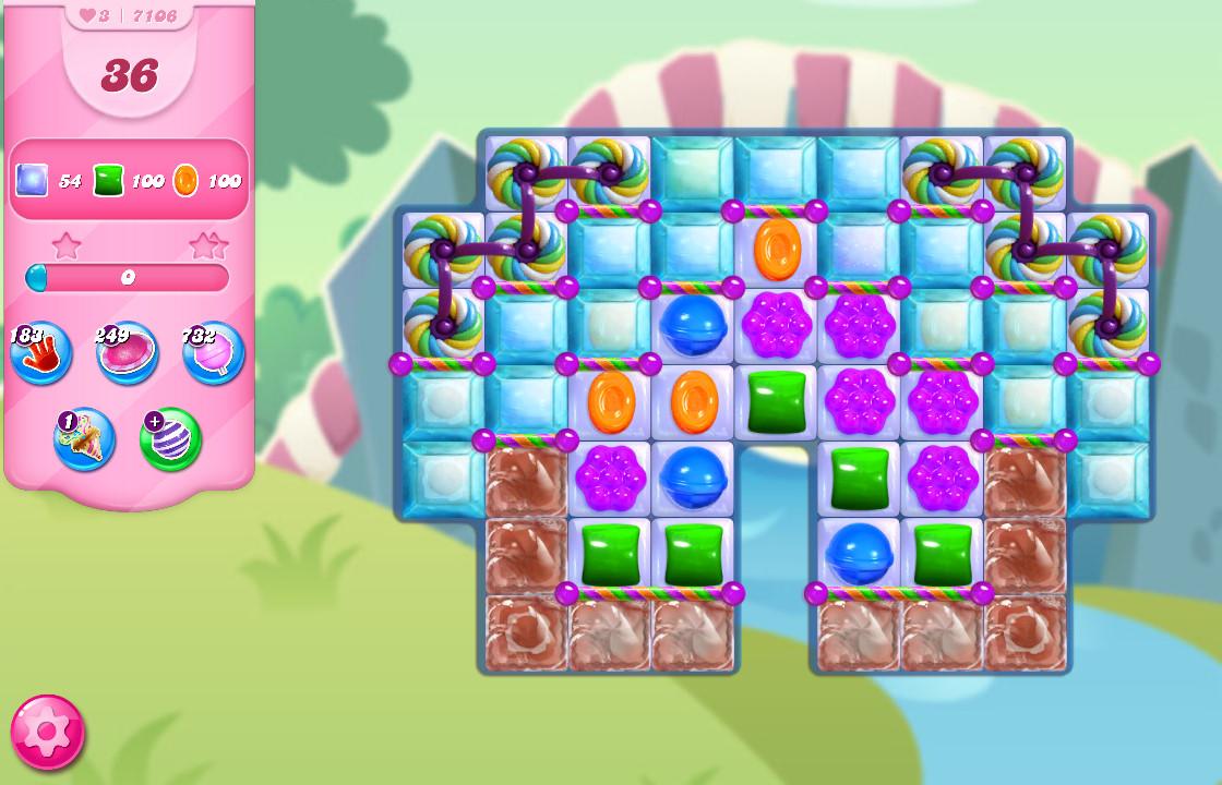 Candy Crush Saga level 7106