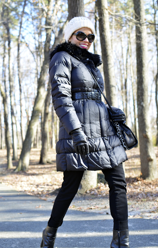 How to style a down coat