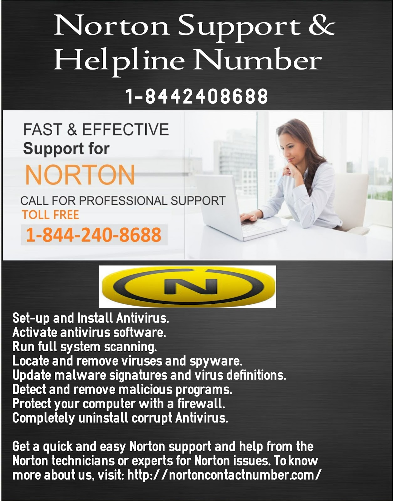 Norton Tech Support Phone Number 1 844 240 8688 Norton
