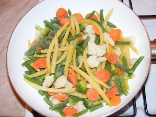 Legume congelate la tigaie retete culinare legume sote,