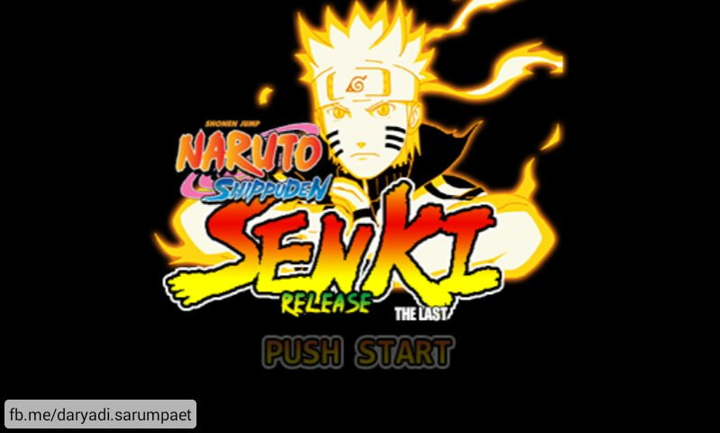 45 MB] Naruto Shippuden Senki APK Android Game Download +