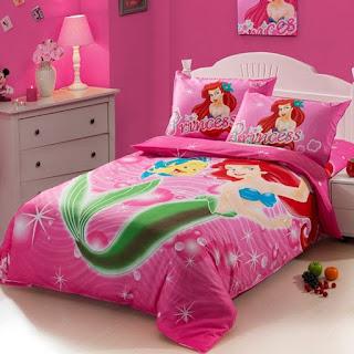 dormitorio tema sirenita