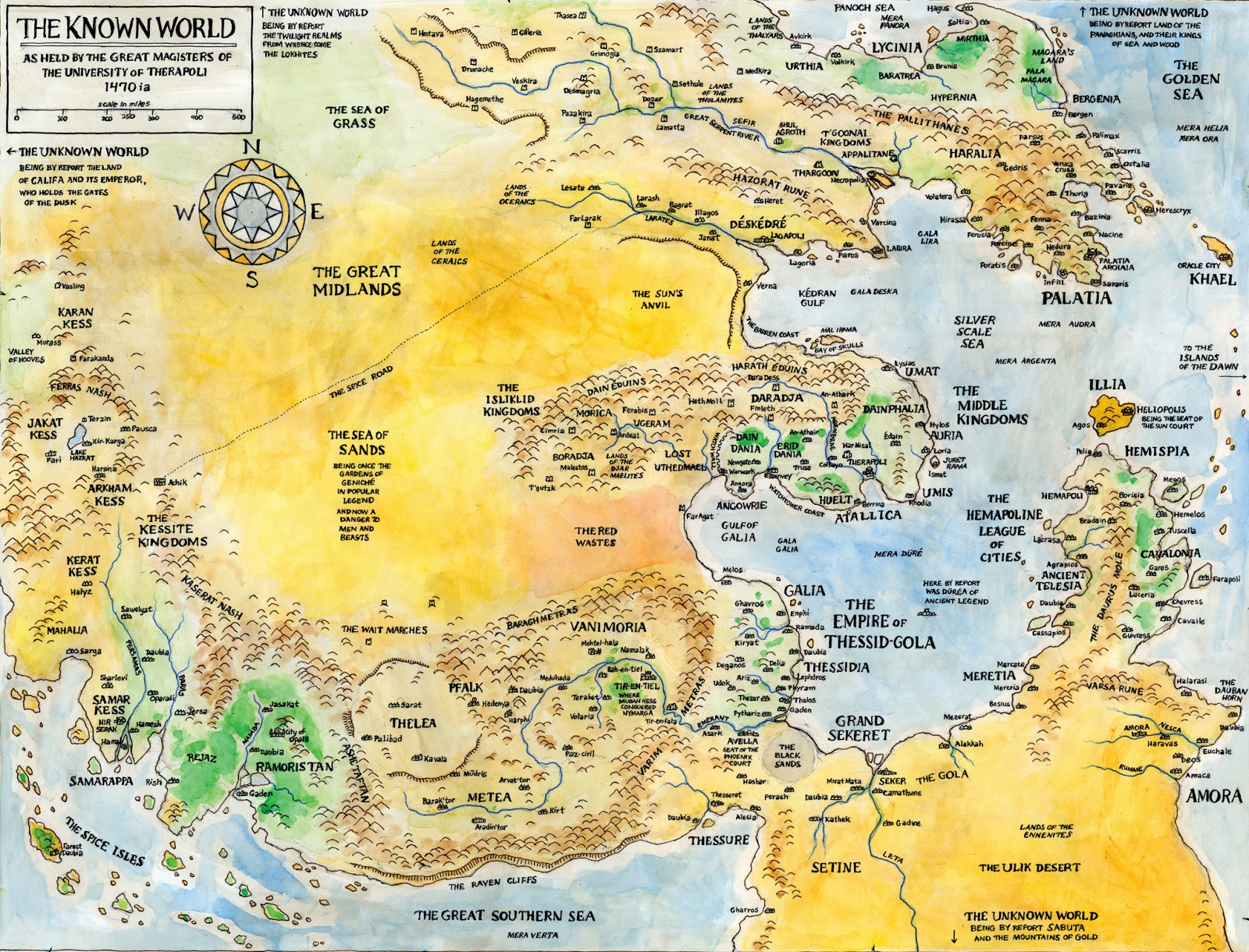 A Fantasy Reader New Maps Mark Smylie S The Barrow