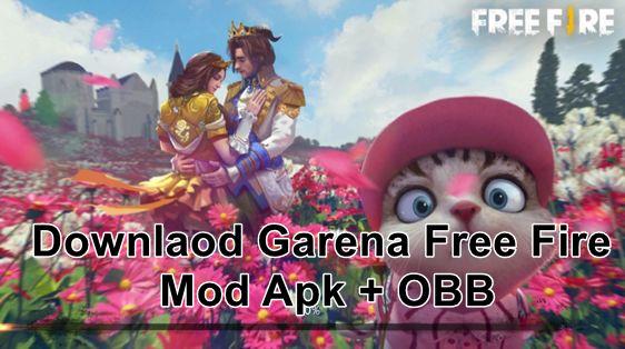 تحميل Garena Free Fire Mod Apk OBB