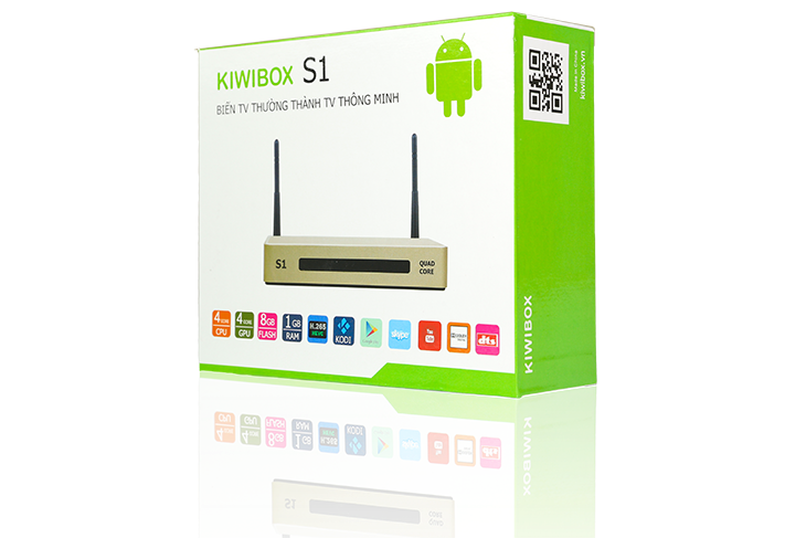 Smart box TV Kiwibox S1