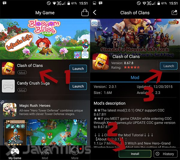 Mod Clash Of Clans APK July 2016 - All About Android and
